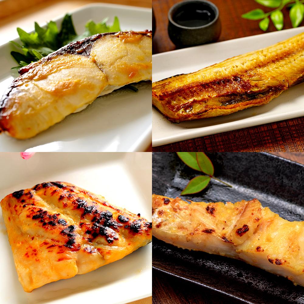 北の漬魚 4種8切